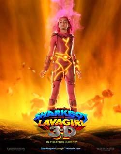Приключения Шаркбоя и Лавы, Приключения мальчика-акулы и девочки-лавы в 3D