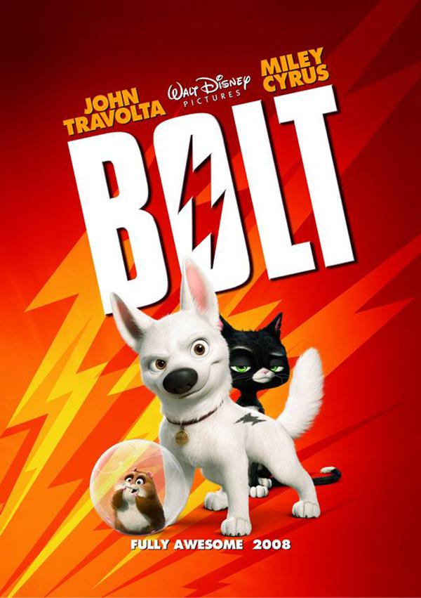 Вольт - обычный пес, который всю жизнь снимается в сериале о суперпсе, который спасет человечество. Вольт так вжился в роль супергероя, что полностью уверен в своей неуязвимости и умении летать. Но когда по воле случая Вольт оказывается Большом Городе, то он думает, что это лишь очередной эпизод телесериала...