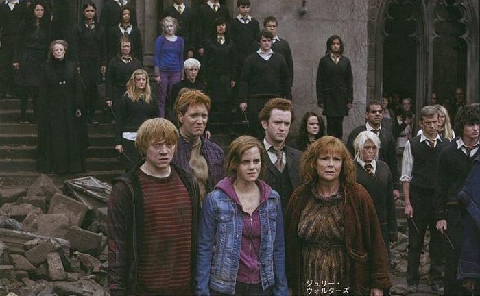 Ряд новых рекламных изображений из фильма Гарри Поттер и дары смерти: