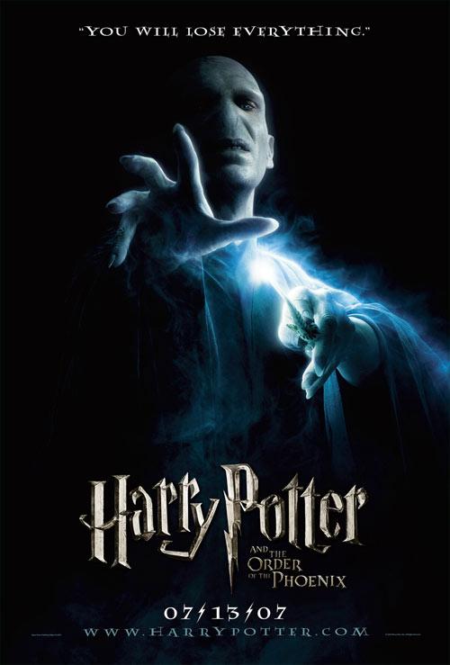 Гарри Поттер и Орден Феникса, Harry Potter and the Order of the Phoenix, постеры