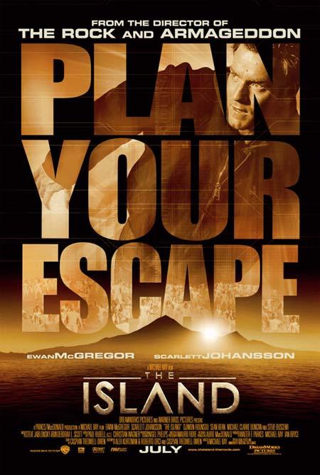Остров, постеры.
