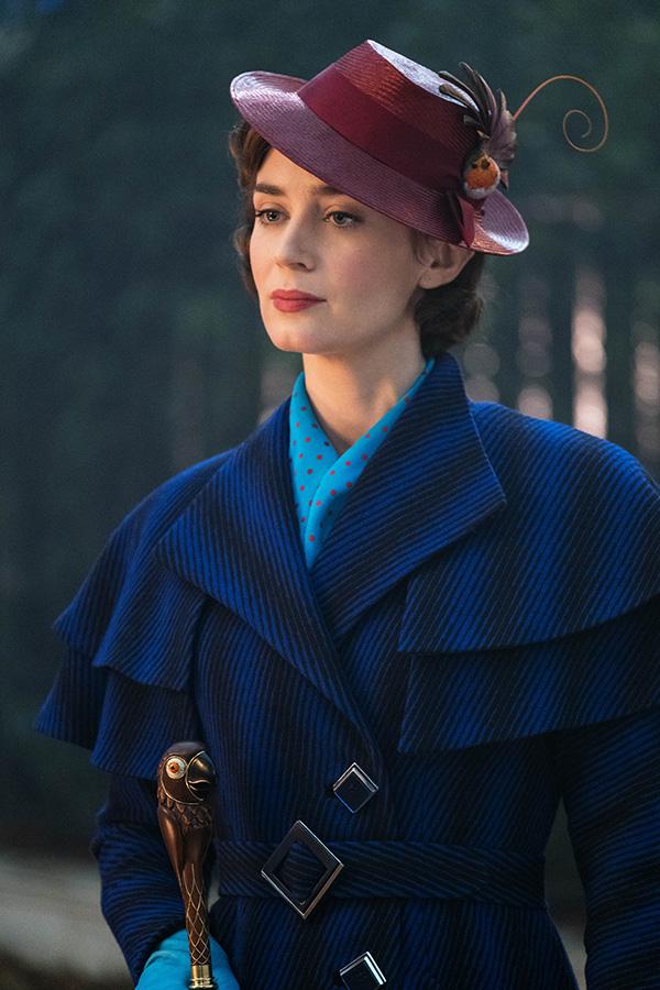 Эмили Блант в фильме Мэри Поппинс возвращается.