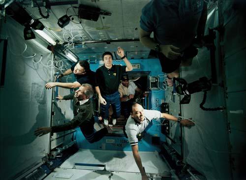 Космическая станция 3D , кадры из фильма