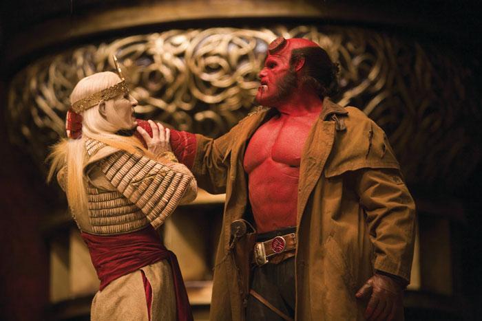 Хеллбой 2: Золотая армия.  На фото:   Рон Перлман