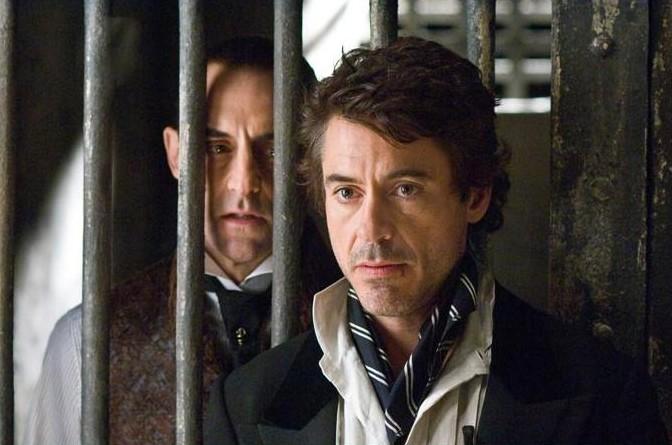 Шерлок Холмс: Шерлок Холмс.  На фото:   Роберт Дауни-младший
