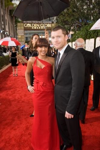 Золотой глобус: Золотой глобус 2010.   Сэм Уортингтон  и Натали Марк