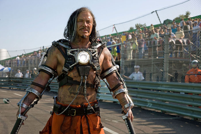 Железный человек: Железный человек 2.  На фото:   Микки Рурк