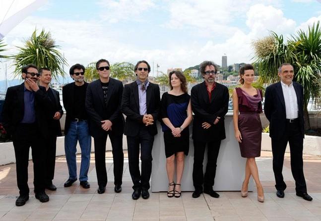 Каннский кинофестиваль: Канны 2010.  большое жюри во главе с  Тимом Бёртоном