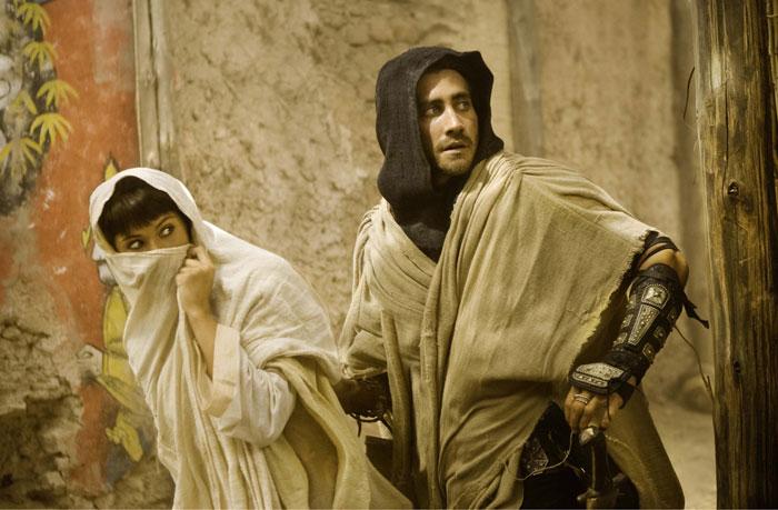 Принц Персии: Пески времени.  На фото:   Джейк Гилленхааль  ,   Джемма Артертон