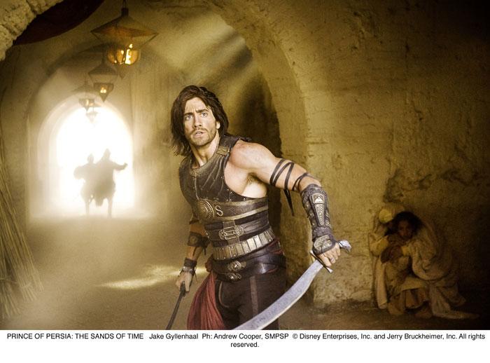 Принц Персии: Пески времени.  На фото:   Джейк Гилленхааль