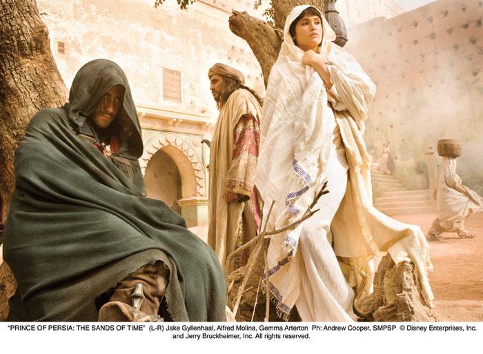 Принц Персии: Пески времени.  На фото:   Джемма Артертон