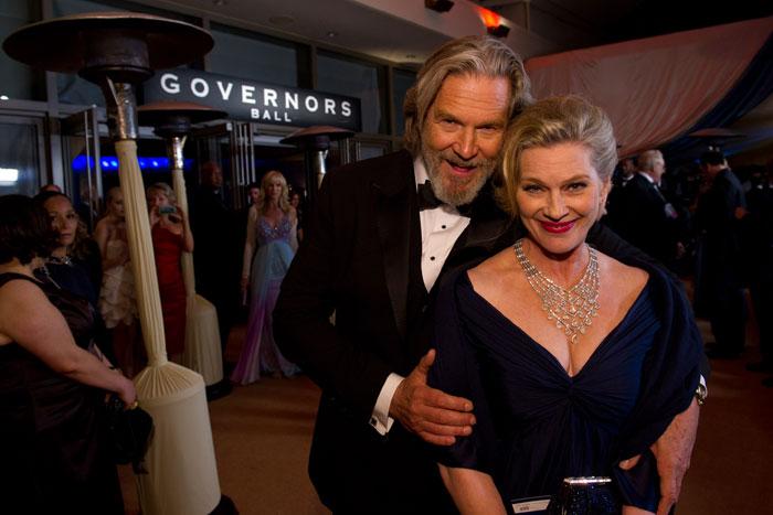 Оскар 2020: Оскар 2011, как он был.   Джефф Бриджес  и Сьюзан Бриджес