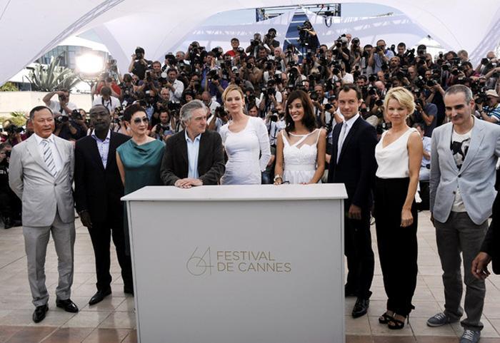 Каннский кинофестиваль: Канны 2011.  большое жюри во главе с  Робертом де Ниро