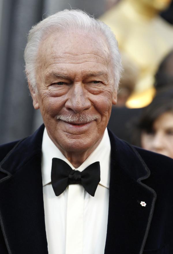 Оскар 2020: Оскар-2012, фото церемонии.   Кристофер Пламмер