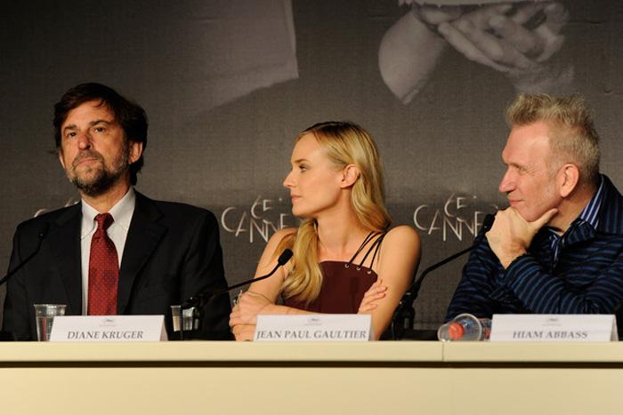 Каннский кинофестиваль: Канны 2012.  Нанни Моретти,  Дайан Крюгер , Жан-Поль Готье