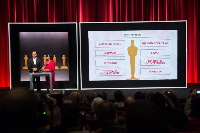Оскар 2020: Оскар-2015, как это будет.   Крис Пайн, Шерил Бун Айзекс