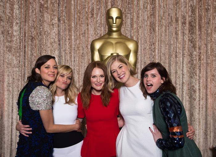 Оскар 2020: Оскар-2015, как это будет.   Марион Котийар, Риз Уизерспун, Джулианна Мур, Розамунд Пайк, Фелисити Джонс