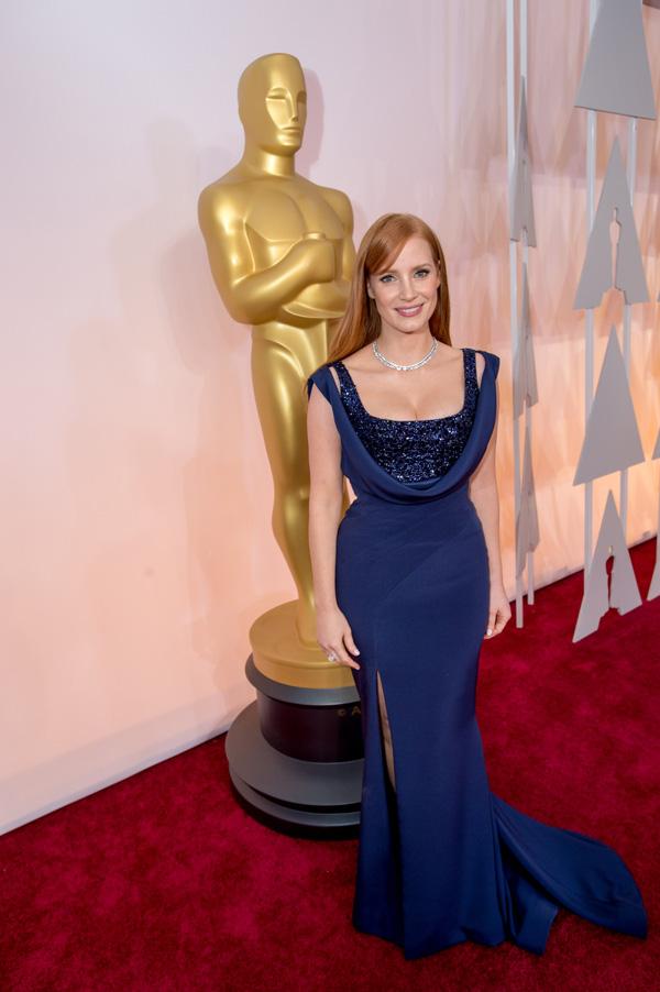 Оскар 2020: Оскар-2015, как это было.   Джессика Честейн