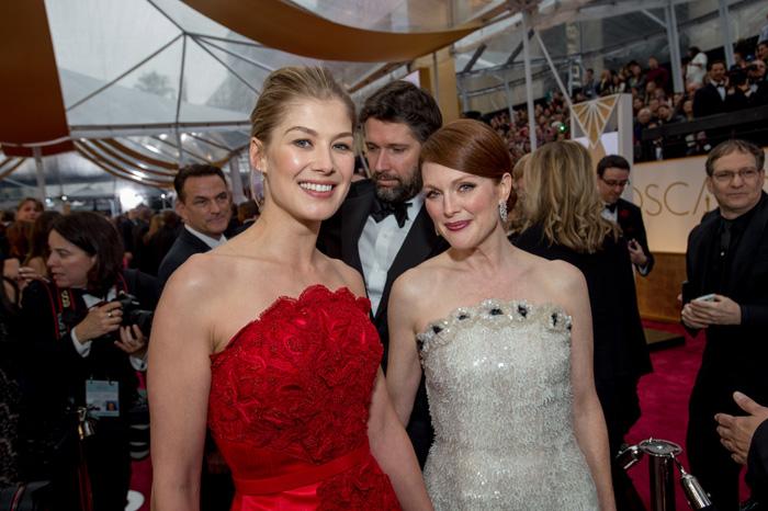 Оскар 2020: Оскар-2015, как это было.   Розамунд Пайк  и  Джулианна Мур