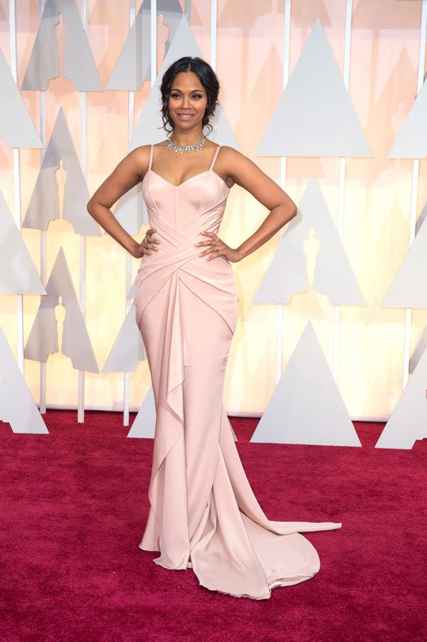 Оскар 2020: Оскар-2015, как это было.   Зои Салдана