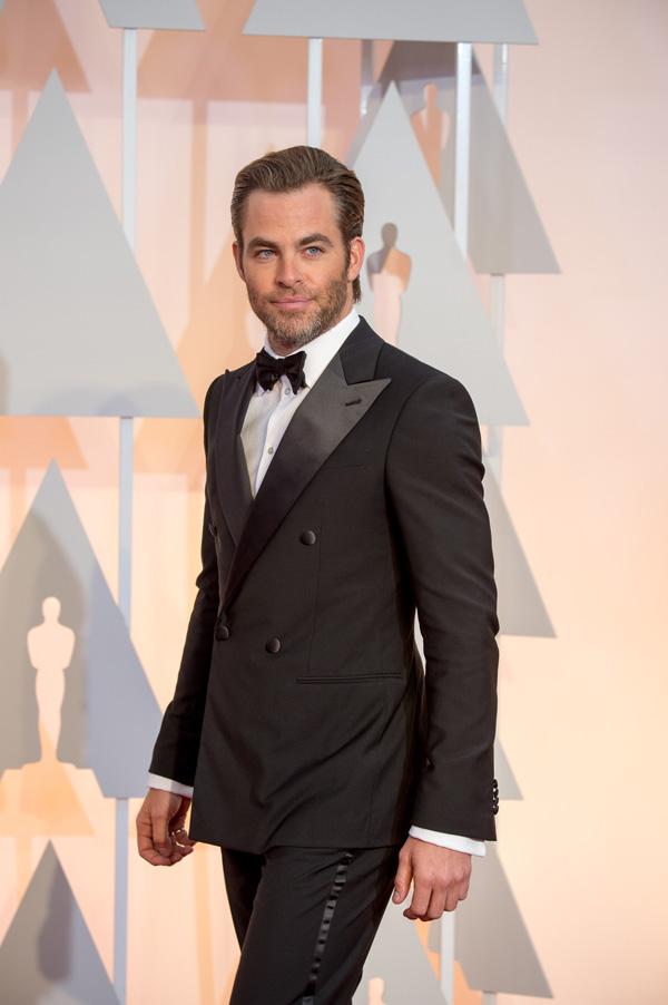 Оскар 2020: Оскар-2015, как это было.   Крис Пайн