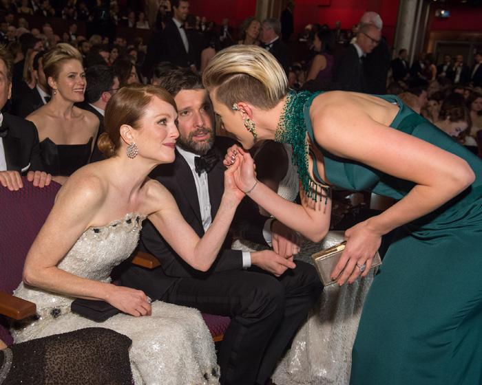 Оскар 2020: Оскар-2015, как это было.   Джулианна Мур ,  Скарлетт Йоханссон
