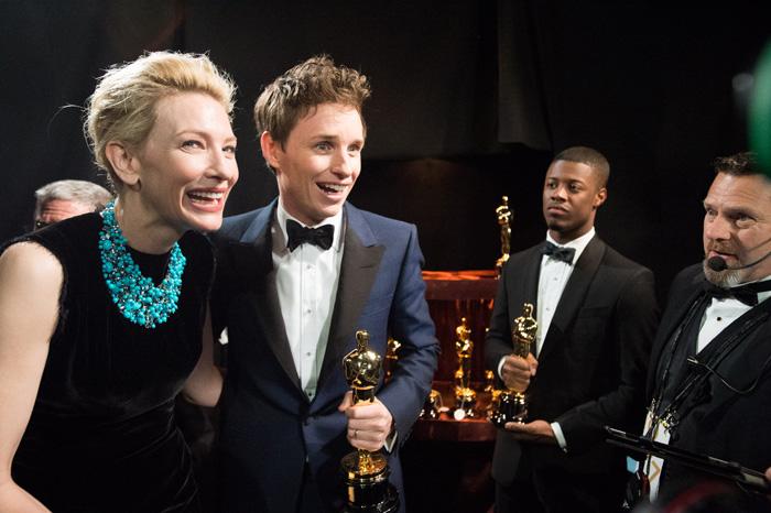 Оскар 2020: Оскар-2015, как это было.   Кейт Бланшетт, Эдди Редмэйн