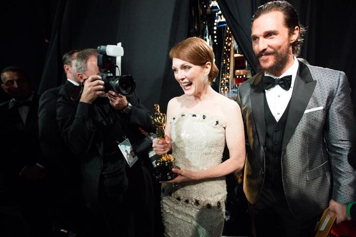 Оскар 2020: Оскар-2015, как это было.   Джулианна Мур ,  Мэттью Макконахи