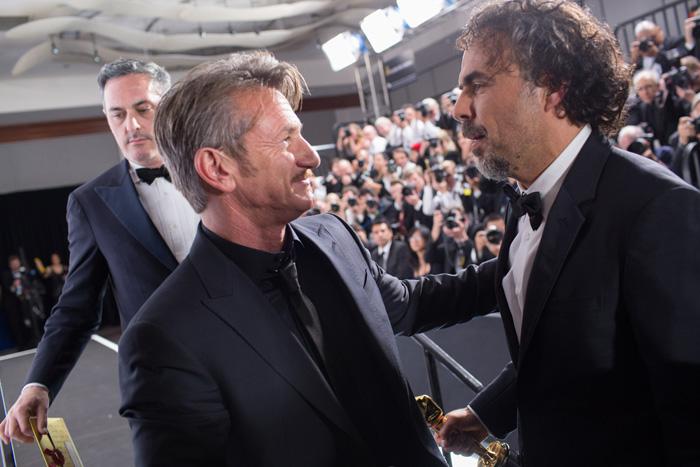 Оскар 2020: Оскар-2015, как это было.   Шон Пенн, Алехандро Гонзалес Иньярриту