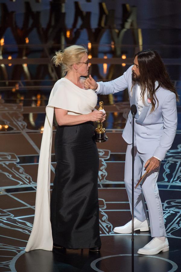 Оскар 2020: Оскар-2015, как это было.   Патриция Аркетт, Джаред Лето
