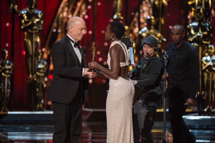 Оскар 2020: Оскар-2015, как это было.   Джей Кей Симмонс, Люпита Ньонго
