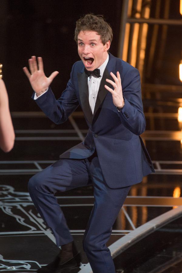 Оскар 2020: Оскар-2015, как это было.   Эдди Редмэйн
