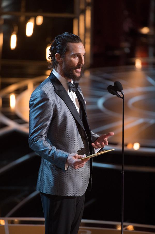 Оскар 2020: Оскар-2015, как это было.   Мэттью Макконахи