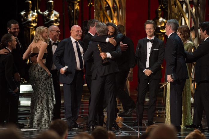Оскар 2020: Оскар-2015, как это было.   Алехандро Гонсалес Иньярриту ,  Эдвард Нортон