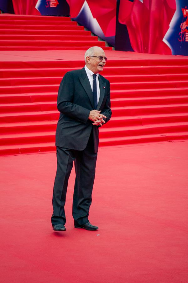 ММКФ 2015: Московский международный кинофестиваль 2015: Красная дорожка закрытия.  фото © Дарья Давидова    Никита Михалков