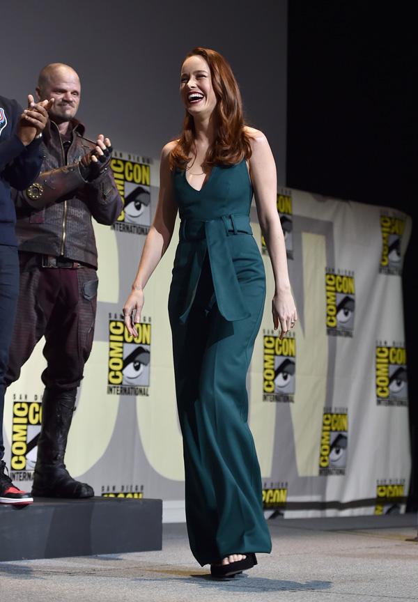 Comic-Con 2016: презентация студии Marvel.   Бри Ларсон