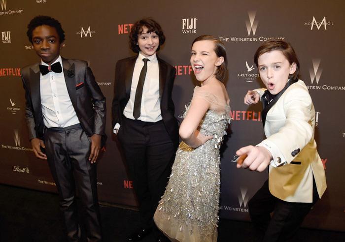 Оскар 2020: Оскар-2017, как это будет.  Актёрский ансамбль сериала    Очень странные дела