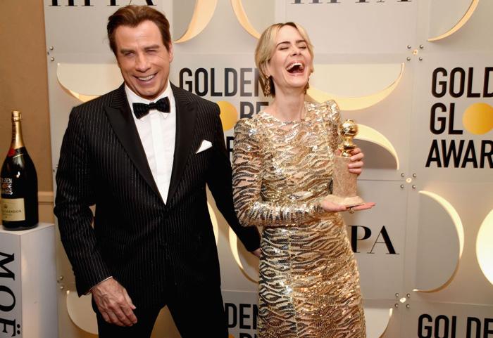 Оскар 2020: Оскар-2017, как это будет.   Джон Траволта и Сара Полсон