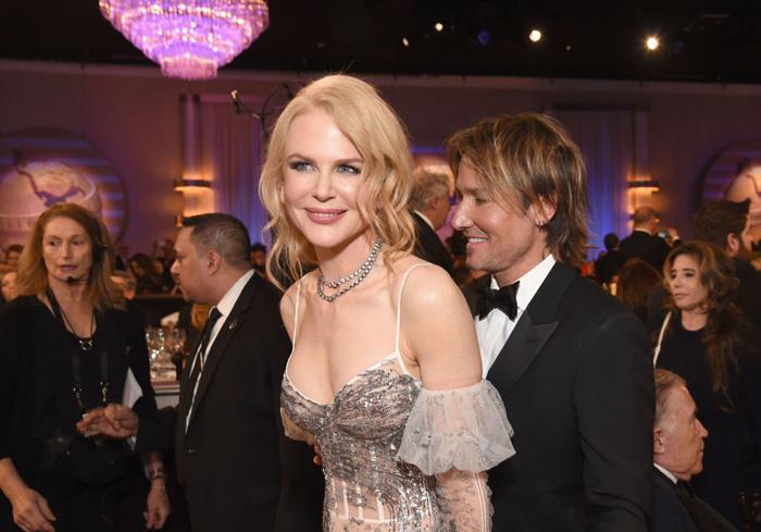 Оскар 2020: Оскар-2017, как это будет.   Николь Кидман и Кит Урбан