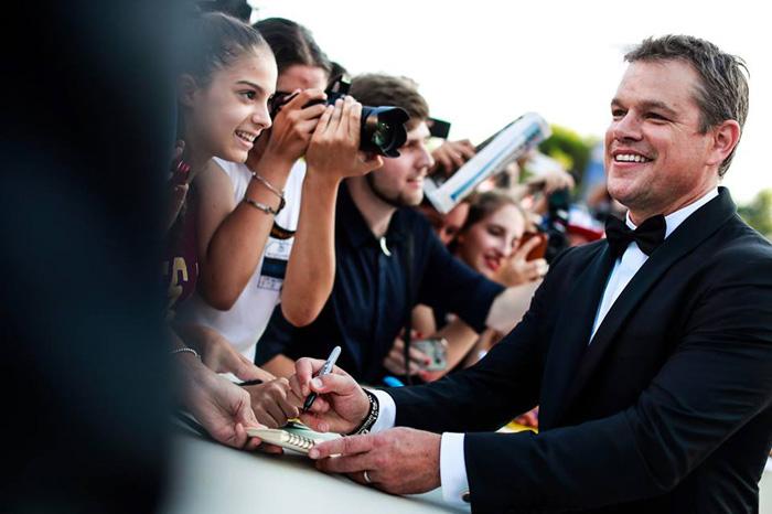 Венецианский кинофестиваль: Венецианский кинофестиваль 2017.   Мэтт Дэймон