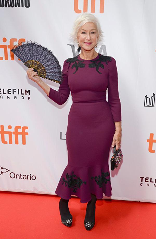 Кинофестиваль в Торонто 2017.   Хелен Миррен