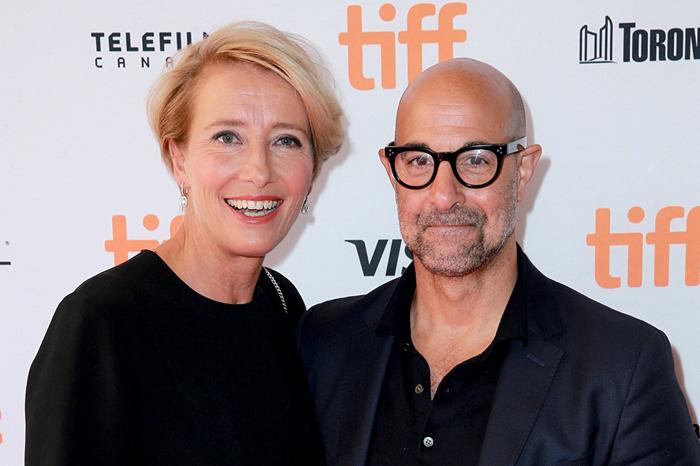 Кинофестиваль в Торонто 2017.   Эмма Томпсон и Стэнли Туччи