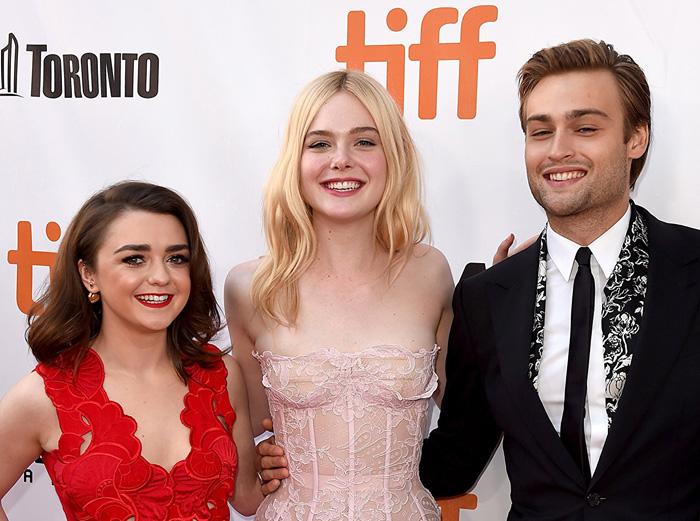 Кинофестиваль в Торонто 2017.   Мейси Уильямс, Эль Фэннинг