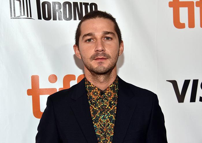 Кинофестиваль в Торонто 2017.   Шиа Лабуф