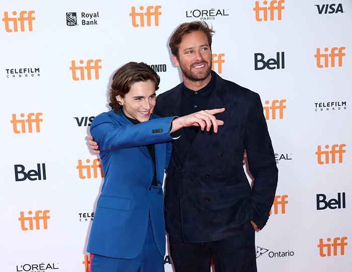 Кинофестиваль в Торонто 2017.   Арми Хаммер