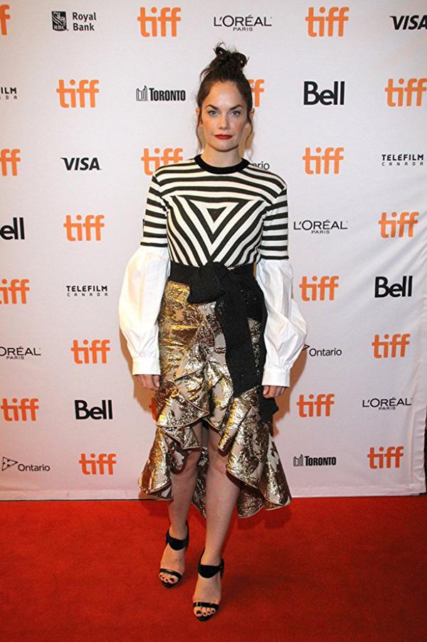 Кинофестиваль в Торонто 2017.   Рут Уилсон