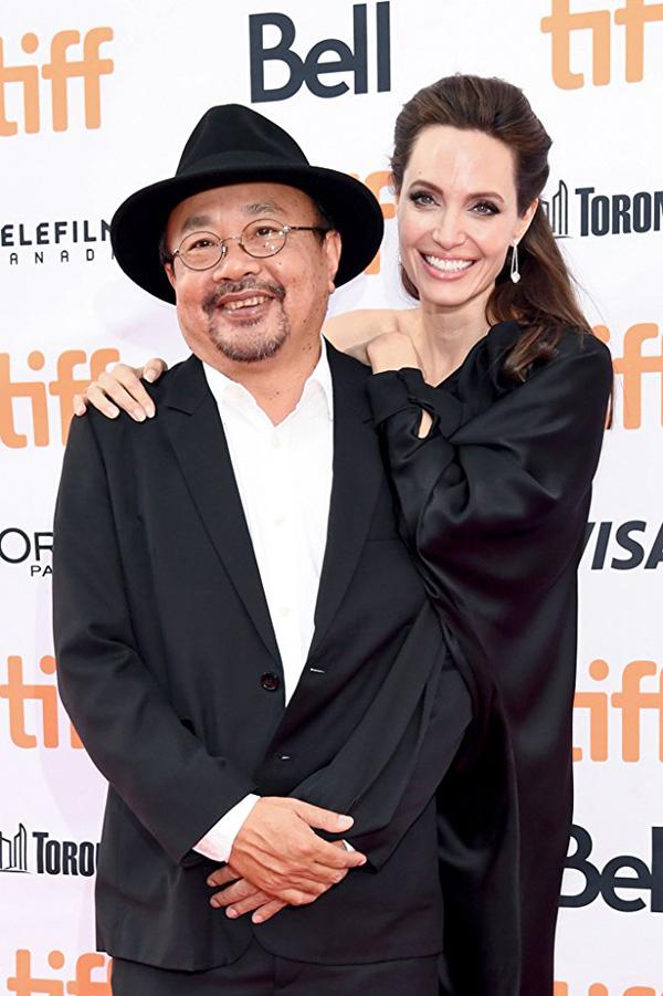 Кинофестиваль в Торонто 2017.   Анджелина Джоли