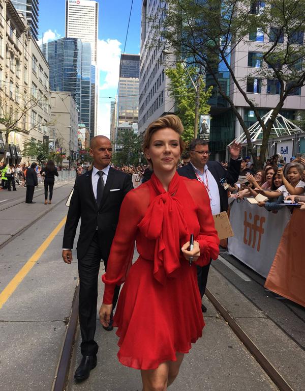 Кинофестиваль в Торонто 2017.   Скарлетт Йоханссон