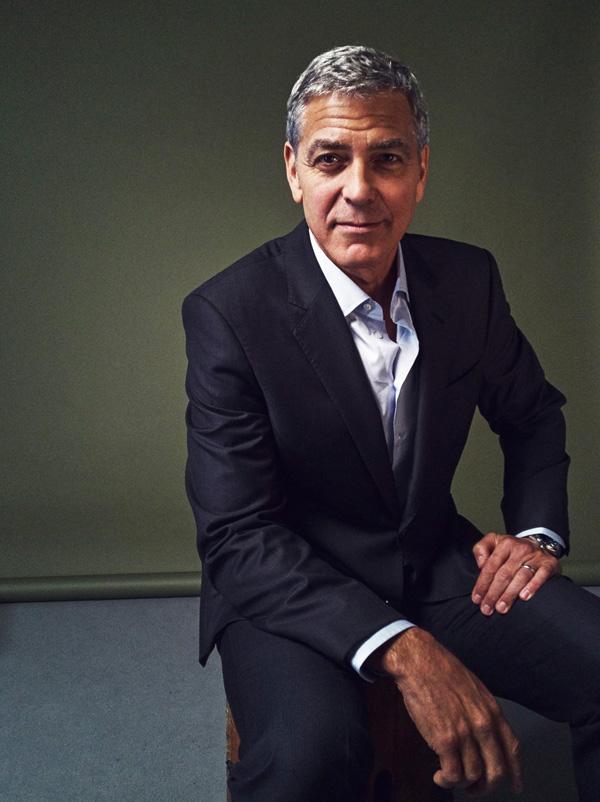 Кинофестиваль в Торонто 2017.   Джордж Клуни