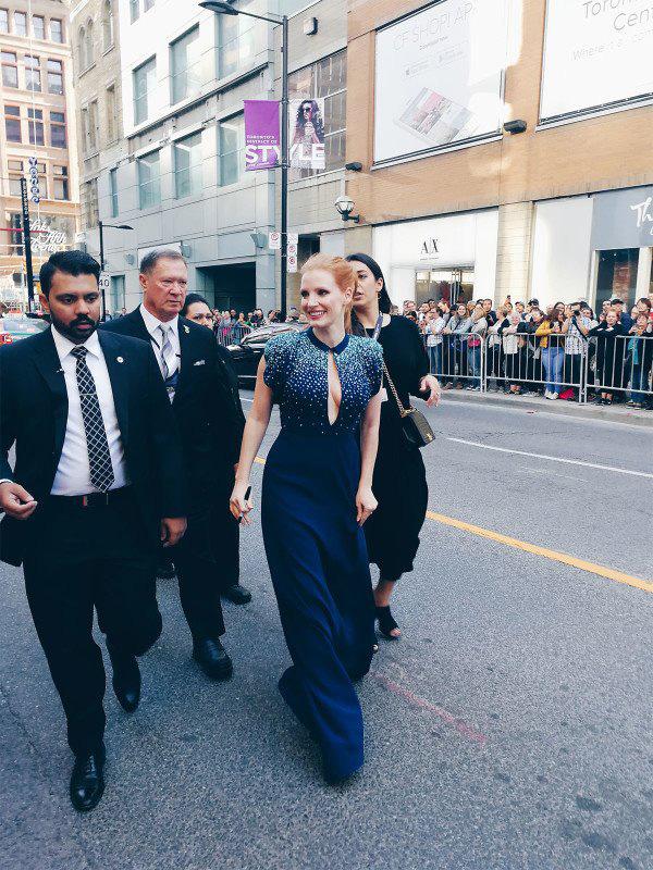 Кинофестиваль в Торонто 2017.   Джессика Честейн